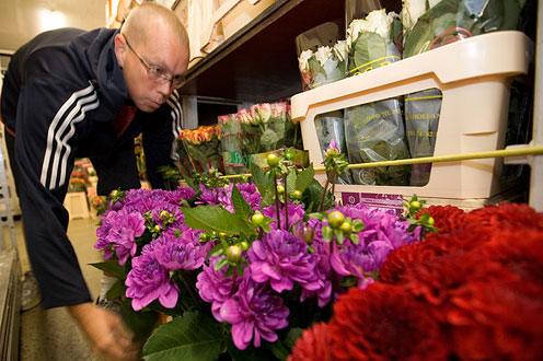 Blumengroßhandel